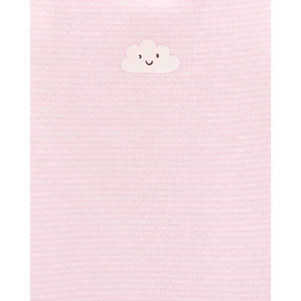 Бодік 1шт рожевий з хмаринкою
