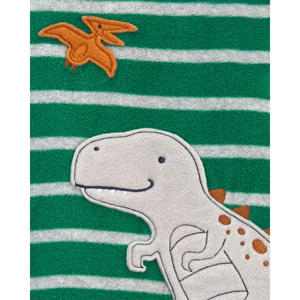 Флісовий чоловічок, ромпер з динозавриком