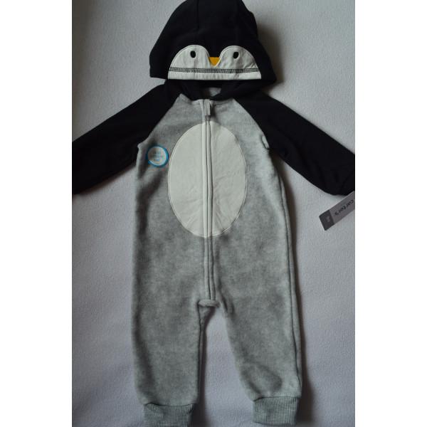 Ромпер чоловічок  флісовий пінгвін