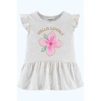 Туніка Glitter Floral Peplum Top 100% бавовна