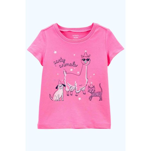 Футболка рожева Party animals