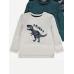 Реглан з довгим рукавом принт динозаврика Roarrr