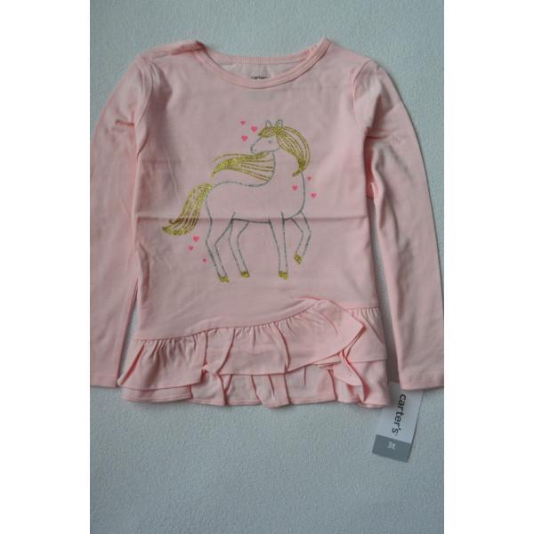 Реглан ніжно-рожевий з коником