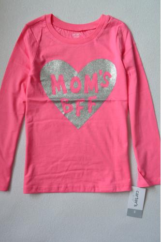 Реглан рожевий з сердечком