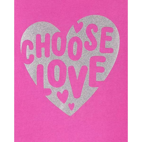Реглан рожевий choose love
