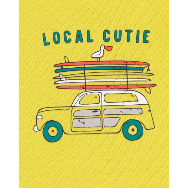 Комплект футболка, боді-маєчка local cutie, шорти