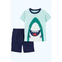 Комплект шорти, футболка Акула