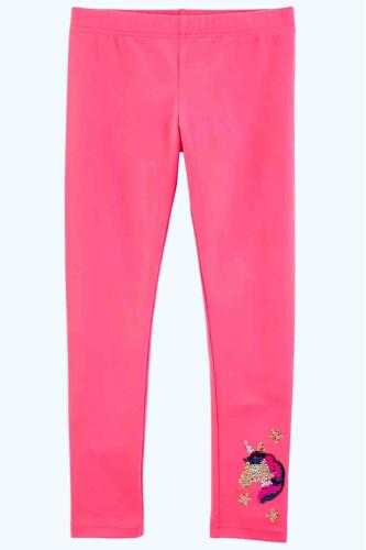 Лосіни рожеві з паєтками