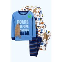 Піжама синя з ведмедиком