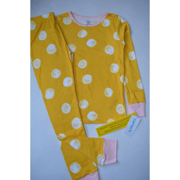Жовта піжама з колобочками