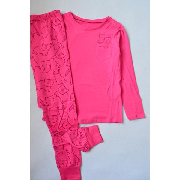 Піжама рожева 100% бавовна