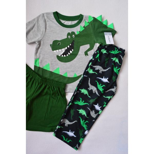 Піжама комплект 3в1  з динозавром