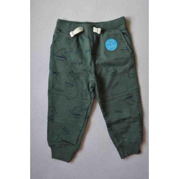 Штани зелені трикотажні