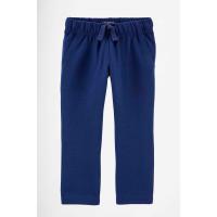 Штани трикотажні темно-сині