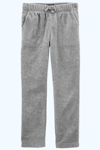 Сірі флісові штани