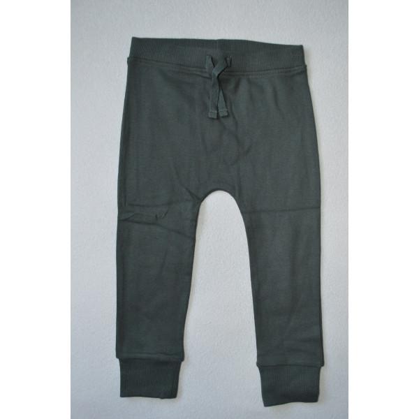 Штани джогери тепно-сірі хлопкові