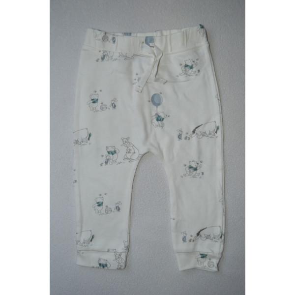 Штани  джогери білі з ведмедиками Disney