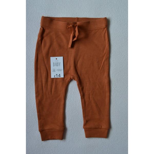 Штани хлопкові коричневі