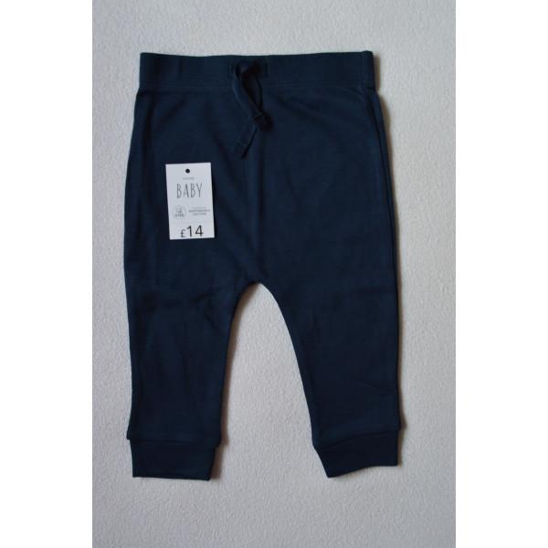 Штани хлопкові темно-сині