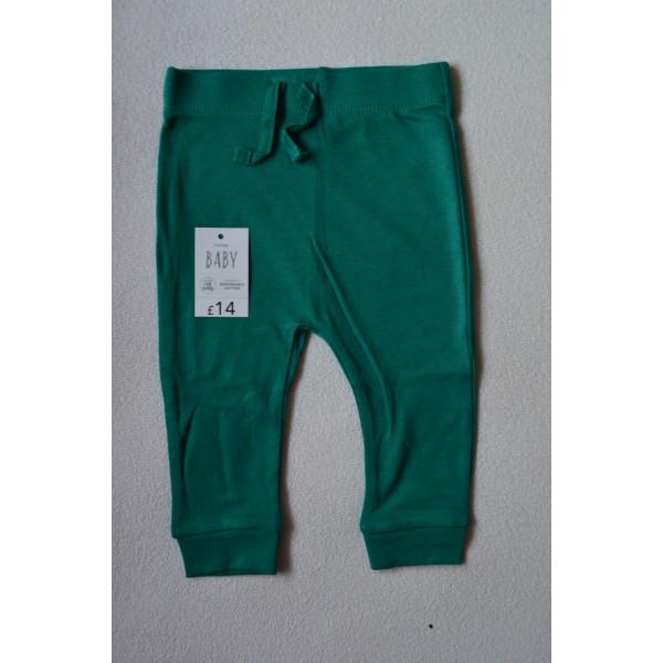 Штани хлопкові зелені