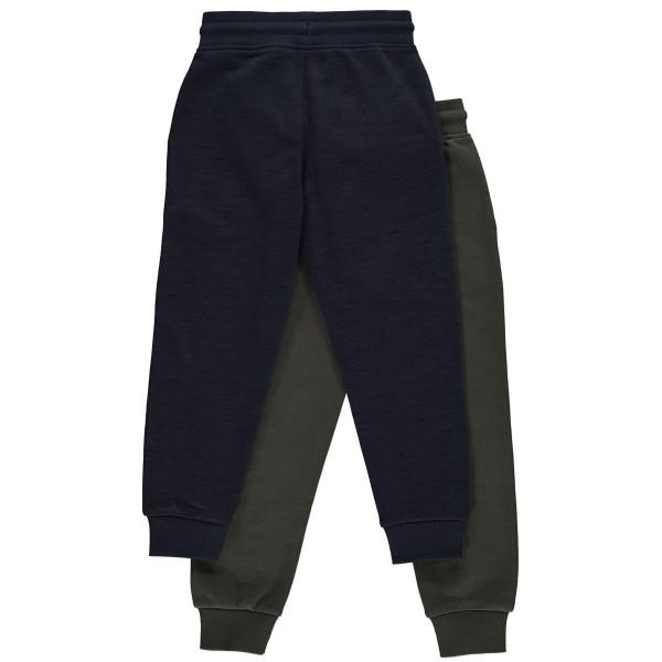 Штани джогери темно-сині трикотаж на флісі