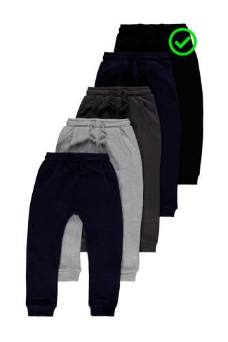 Чорні штани джогери трикотаж на..