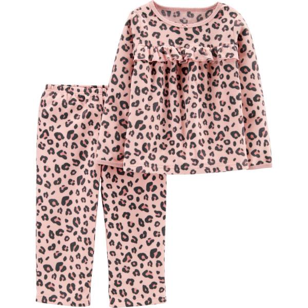 Піжама флісова леопардова