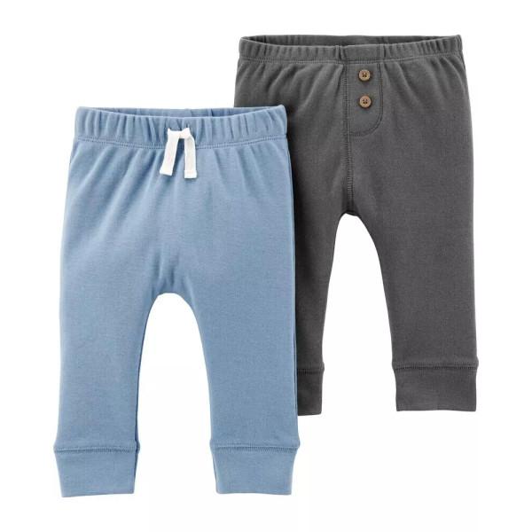 Комплект штанів 2шт сірі, голубі